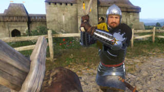 Kingdom Come: Deliverance -  Sword And Archery Training Gameplay