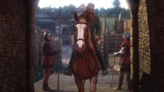 Kingdom Come: Deliverance - Fleeing On Horseback Cinematic And Gameplay