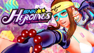 SNK HEROINES Tag Team Frenzy - Sylvie & Zarina Gameplay Reveal Trailer