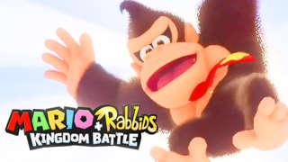 Mario + Rabbids Kingdom Battle: Donkey Kong Adventure DLC Trailer