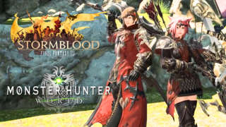 Final Fantasy XIV x Monster Hunter: World Collaboration Launch Trailer