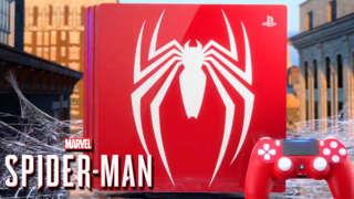 Marvel's Spider-Man - Limited Edition PS4 Pro Bundle Trailer   SDCC 2018