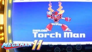 Mega Man 11: Mega Man vs. Torch Man Gameplay Trailer