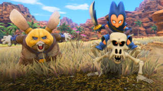 Dragon Quest XI: Echoes Of An Elusive Age Exploring The Hotto Steppes And Gallopolis Region Gameplay