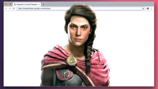 See Assassin's Creed Odyssey Running On Google Chrome