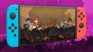 Full Metal Furies Boss Fight On Nintendo Switch