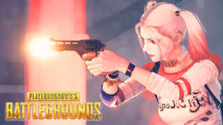 PUBG - Suicide Squad Joker and Harley Quinn Skins Gameplay Trailer