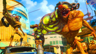 6 Minutes of Sunset Overdrive On PC Max Settings