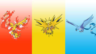 Pokemon Let's Go - Catching Moltres, Zapdos, And Articuno