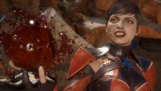 Mortal Kombat 11 - Sonya vs Skarlet Gameplay (With Ed Boon Commentary)