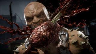 Mortal Kombat 11 - Scorpion vs Baraka Gameplay (With Ed Boon Commentary)