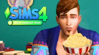 The Sims 4 Movie Hangout Stuff - Official Trailer