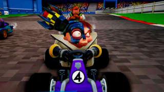 Crash Team Racing Nitro Fueled - Playstation Exclusive Retro Bonus Track