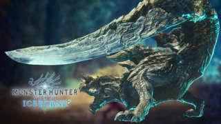 Monster Hunter World: Iceborne - Acidic Glavenus Hunt Gameplay Trailer