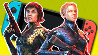 Wolfenstein: Youngblood Switch Gameplay - Fighting Through Brother 1 Tower