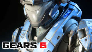 Gears 5 - Halo: Reach Character Pack Gameplay Reveal Trailer