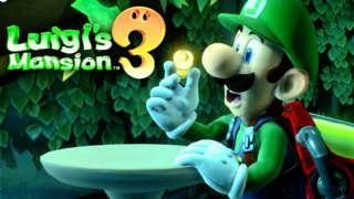 Luigi's Mansion 3 - New Garden Area Gameplay Presentation | Gamescom 2019