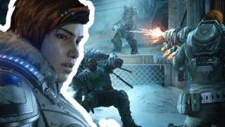 Gears 5 - 10 Waves Of Intense Co-Op Horde Mode Gameplay