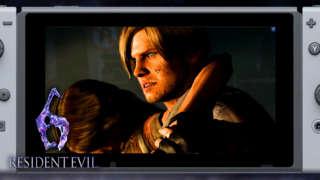 Resident Evil 6 - Nintendo Switch Gameplay Pre-order Trailer