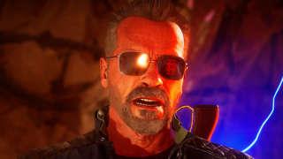 Mortal Kombat 11 - Terminator T-800 Intro Dialogue Compilation