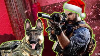 Santa Claus Easter Egg & Silly Yellow Snowball Fights - Call Of Duty Modern Warfare