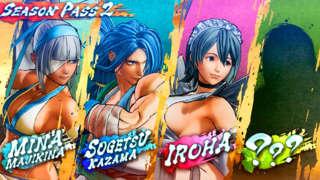 Samurai Showdown – Season Pass 2: DLC Characters Gameplay Reveal Trailer