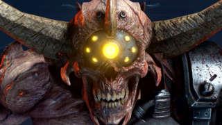 Decimating The New Doom Hunter Boss In Doom Eternal