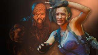 Resident Evil 3 Remake - Terrifying Nemesis Chase Gameplay