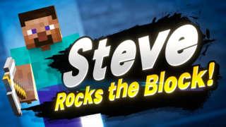 Super Smash Bros. Ultimate - Minecraft Steve Announcement Trailer