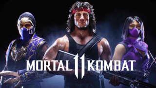 Mortal Kombat 11 Ultimate - Rambo, Mileena, And Rain Official Kombat Pack 2Reveal Trailer