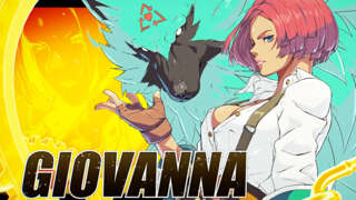 Guilty Gear Strive - Official Giovanna Character Gameplay Reveal Trailer