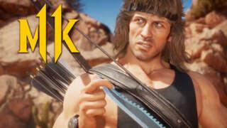 Mortal Kombat 11 Ultimate - Official Rambo Gameplay Reveal Trailer