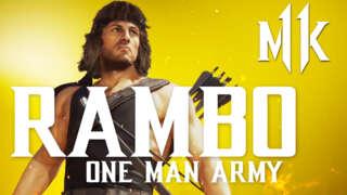 Mortal Kombat 11 Ultimate - Official Meet Rambo Gameplay Trailer