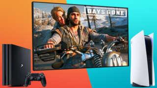 PS4 Pro vs PS5: Days Gone