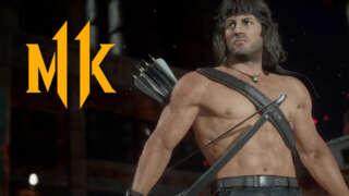 Mortal Kombat 11 Ultimate - Official Rambo Vs. Terminator Gameplay Trailer
