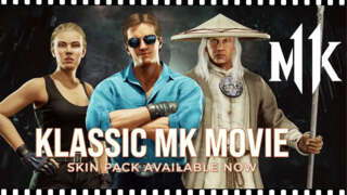 Mortal Kombat 11 -Official Klassic MK Movie Skin Pack Reveal Trailer