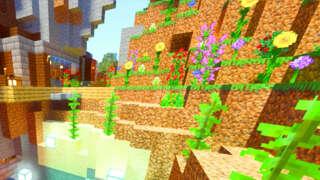 12 Minutes Of Minecraft RTX Update Gameplay