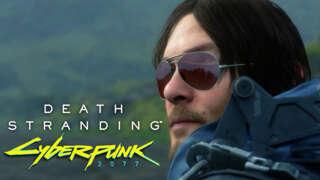 Death Stranding - Official Cyberpunk 2077 Content Update Trailer