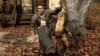 Resident Evil 4 VR Reveal Trailer  | Resident Evil Showcase