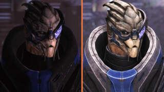 Mass Effect - Legendary vs Original Graphics Comparison   Characters, Eden Prime, Citadel