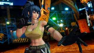 King Of Fighters XV - Official Leona Heidern Gameplay Reveal Trailer
