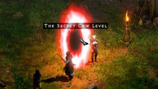 Diablo 2: Resurrected Secret Cow Level Gameplay