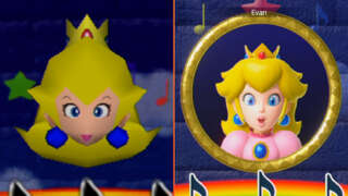 Mario Party Superstars - N64 vs. Switch Graphics Comparison