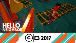 Hello Neighbor - Beta Gameplay Trailer - E3 2017