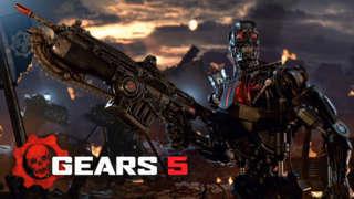 Gears 5 Terminator Dark Fate Reveal Trailer | Microsoft Press Conference E3 2019
