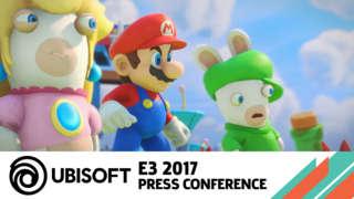 Mario + Rabbids Kingdom Battle - E3 2017 Announcement Trailer