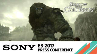 Shadow of the Colossus Remastered Reveal Trailer - E3 2017