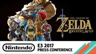 Zelda: Breath Of The Wild DLC #2 Gameplay Trailer - E3 2017