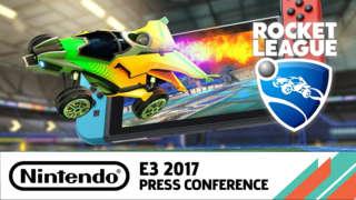 Rocket League Nintendo Switch Announcement Trailer - E3 2017