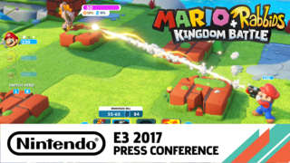 20 Minutes Of Mario + Rabbids Kingdom Battle Hub World Gameplay - E3 2017